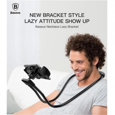 هلدر گردنی چندکاره تبلت موبایل necklace lazy bracket