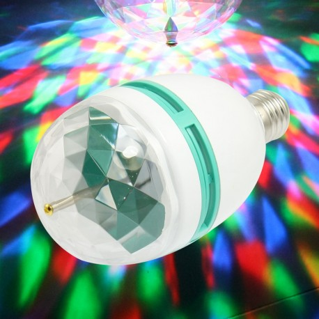 لامپ رقص نور لیزری LED چرخان