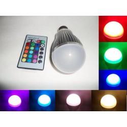 لامپ ريموت دار دارای اسپیکر بلوتوثی